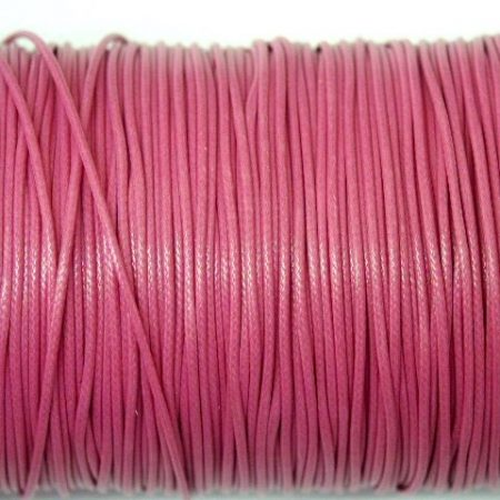 Cotton Wax Cord: 1mm