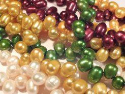Freshwater Pearls : Teardrop