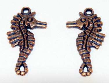 Tibetan Style Red Copper Charms