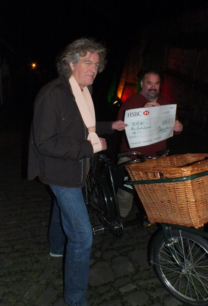 James May Turns On The Xmas Lights In Shaftesbury