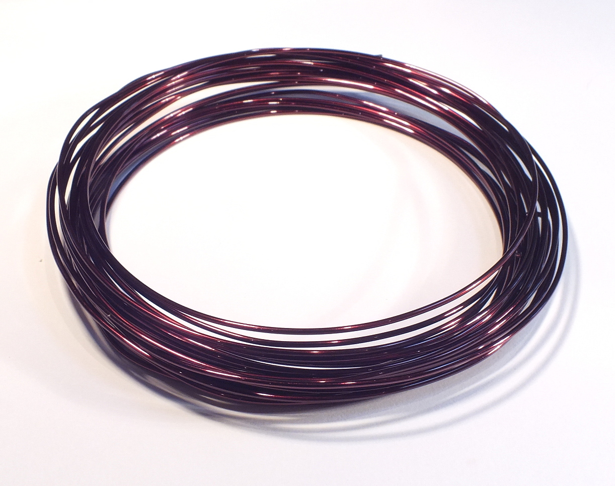 Mid Brown Craft Wire 0.5mmx15m – The Beadster
