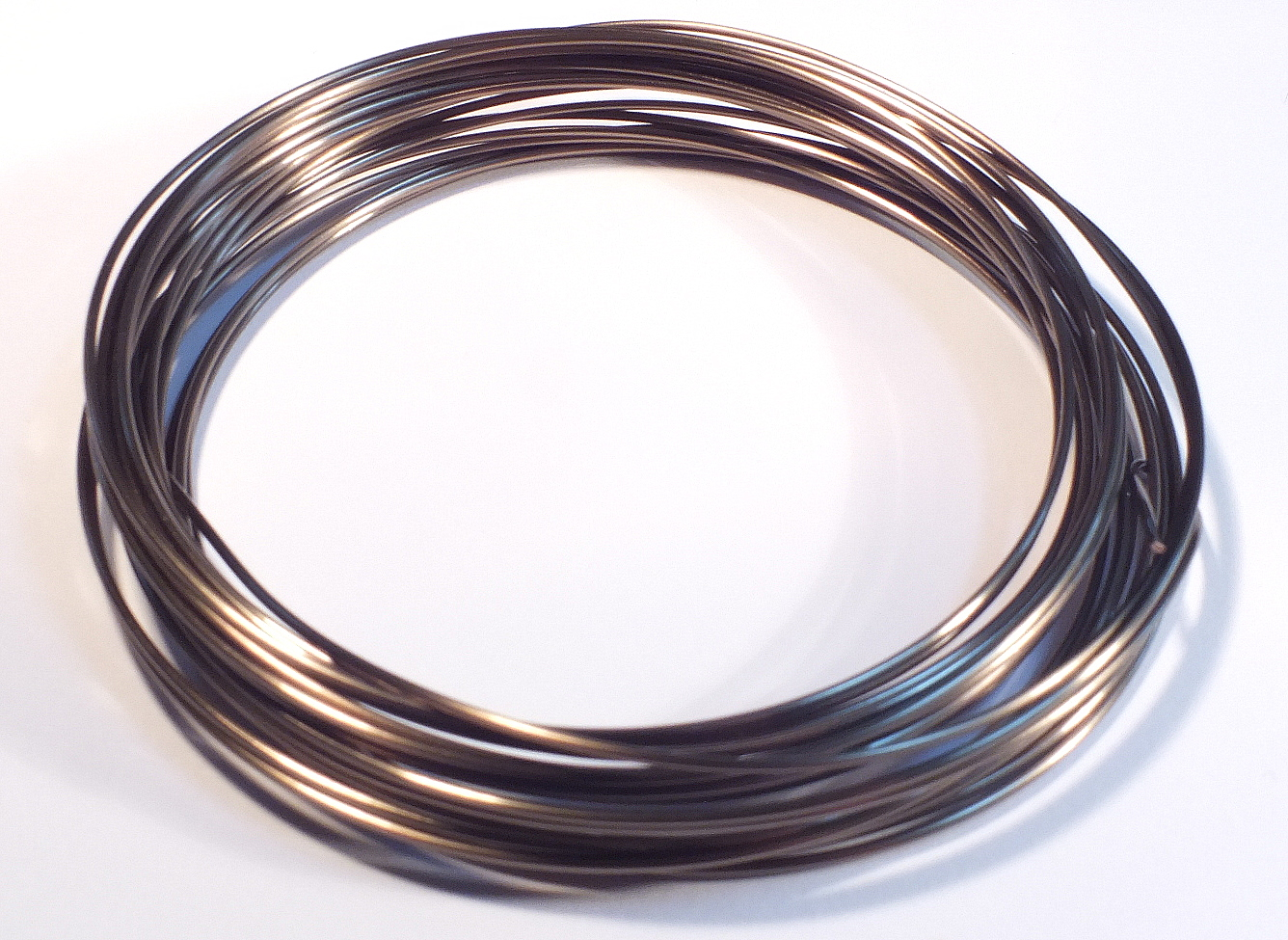 Gunmetal Coloured Craft Wire 0.5mmx15m – The Beadster