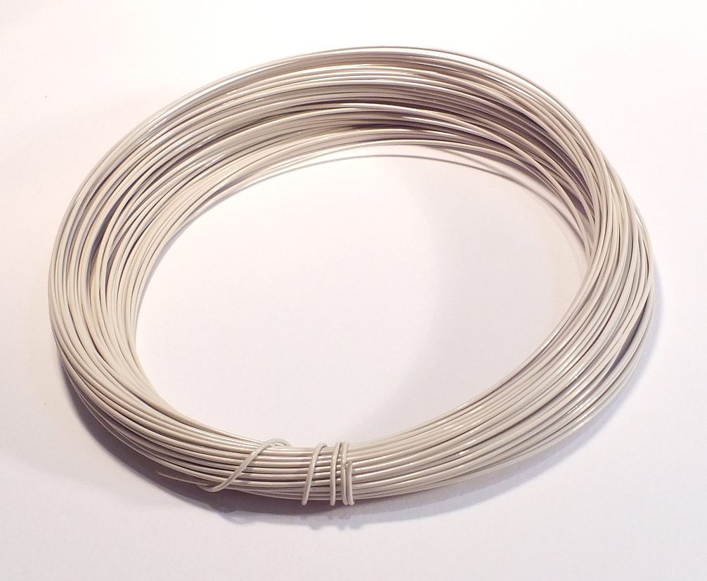 Ivory Craft Wire 0.5mmx15m – The Beadster