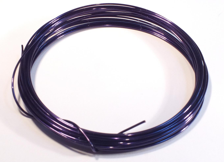 Dark Blue Craft Wire 0.9mmx5m – The Beadster